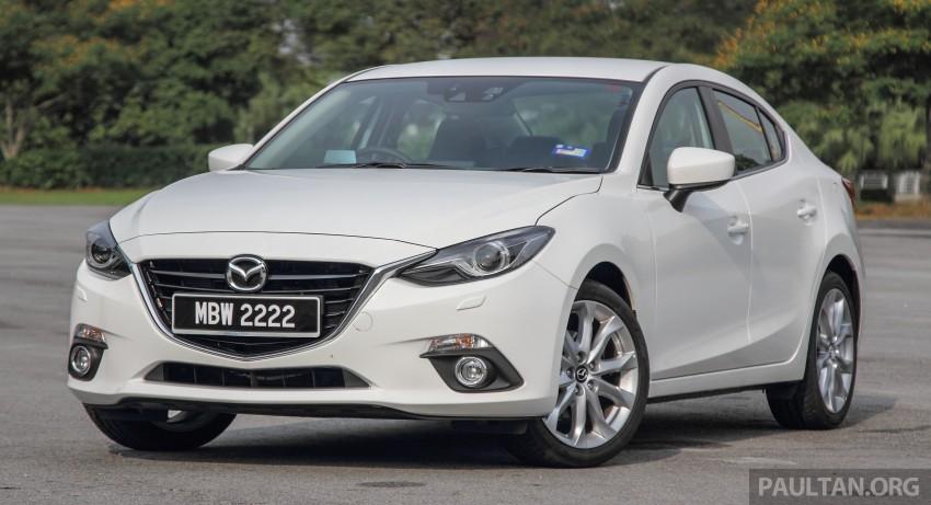 GALLERY: 2015 Mazda 3 CKD – Sedan vs Hatchback Image #337746