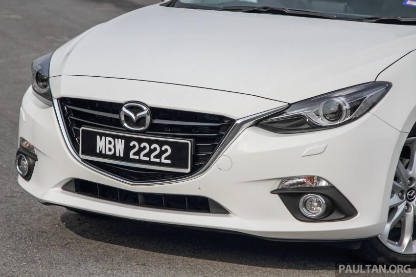GALLERY: 2015 Mazda 3 CKD – Sedan vs Hatchback Image #337747
