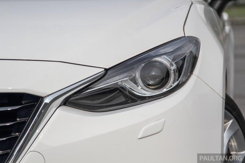 GALLERY: 2015 Mazda 3 CKD – Sedan vs Hatchback Image #337748