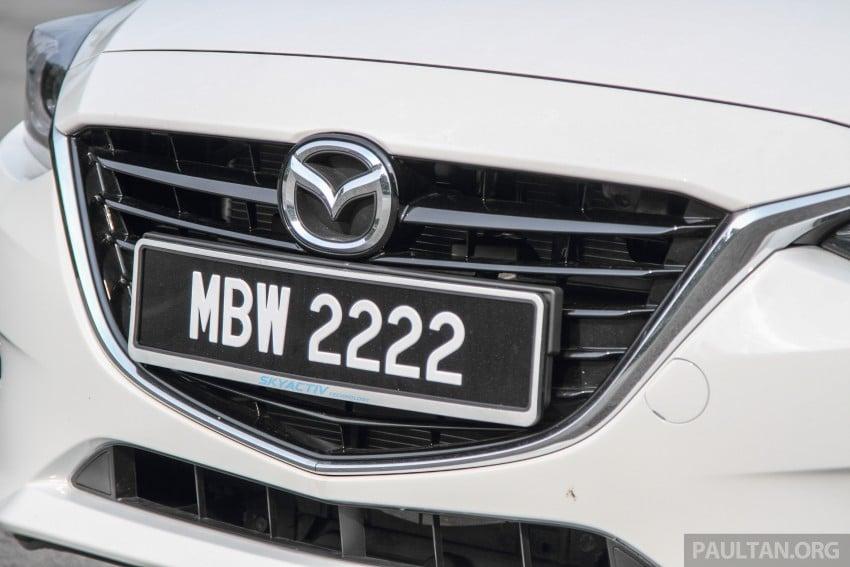 GALLERY: 2015 Mazda 3 CKD – Sedan vs Hatchback Image #337749
