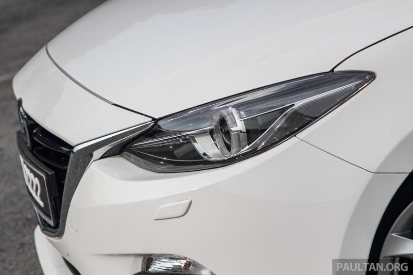 GALLERY: 2015 Mazda 3 CKD – Sedan vs Hatchback Image #337752