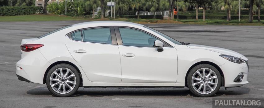 GALLERY: 2015 Mazda 3 CKD – Sedan vs Hatchback Image #337755