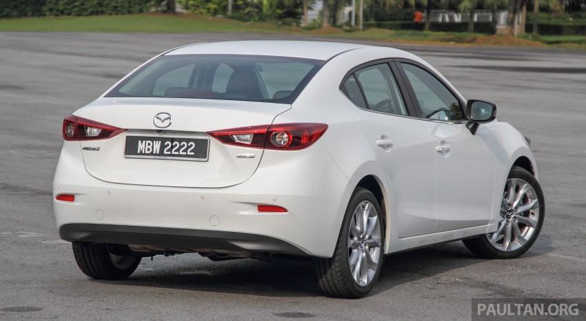 GALLERY: 2015 Mazda 3 CKD – Sedan vs Hatchback Image #337763