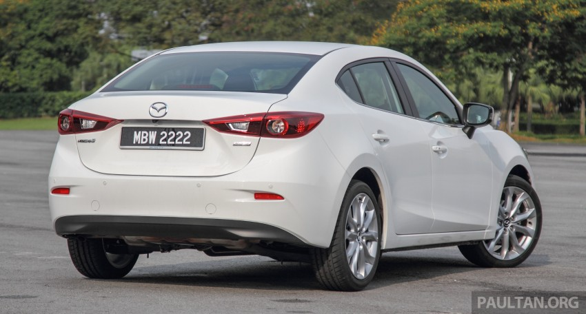 GALLERY: 2015 Mazda 3 CKD – Sedan vs Hatchback Image #337764