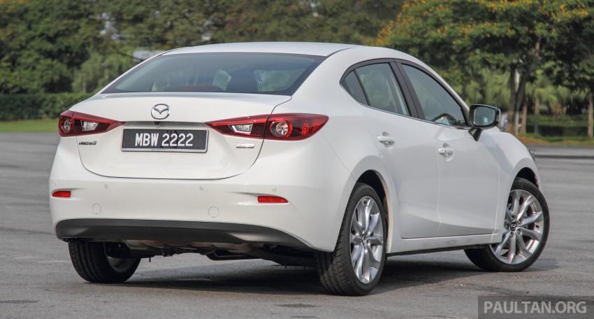 GALLERY: 2015 Mazda 3 CKD – Sedan vs Hatchback Image #337764