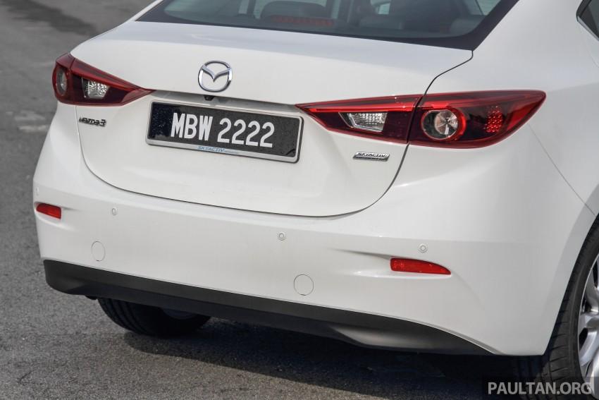 GALLERY: 2015 Mazda 3 CKD – Sedan vs Hatchback Image #337765
