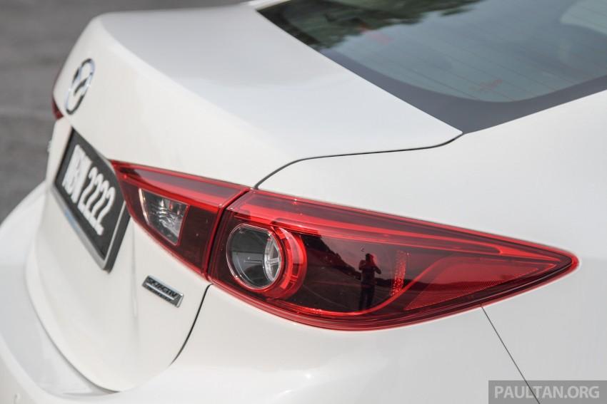 GALLERY: 2015 Mazda 3 CKD – Sedan vs Hatchback Image #337770