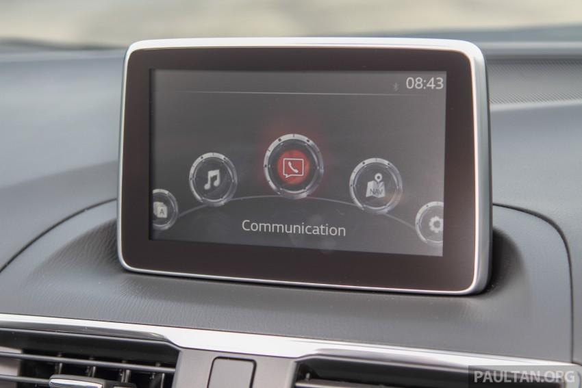 GALLERY: 2015 Mazda 3 CKD – Sedan vs Hatchback Image #337775