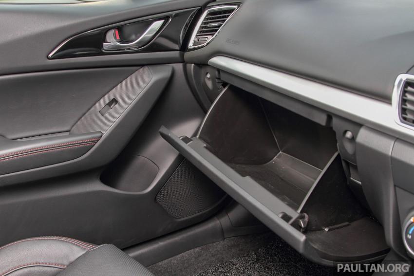GALLERY: 2015 Mazda 3 CKD – Sedan vs Hatchback Image #337780