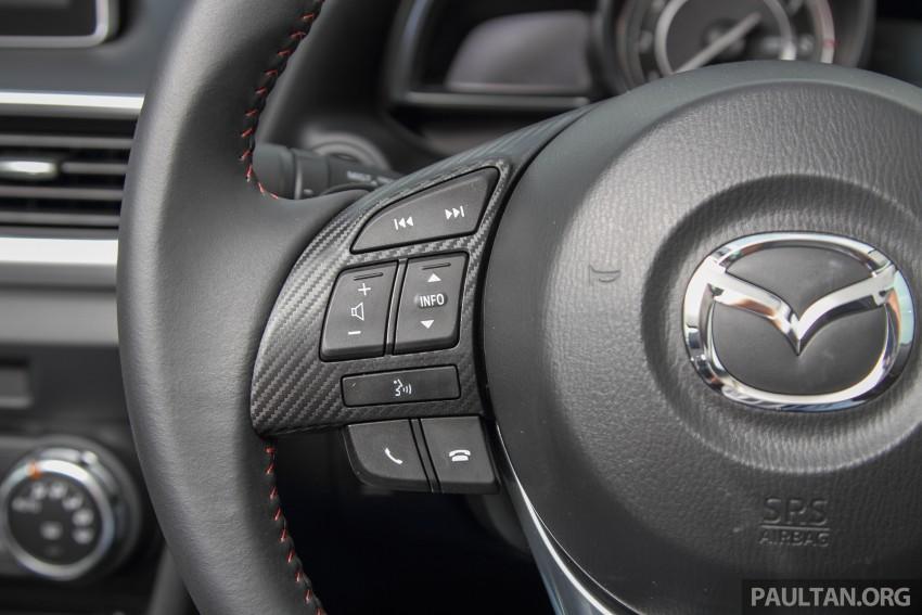 GALLERY: 2015 Mazda 3 CKD – Sedan vs Hatchback Image #337783