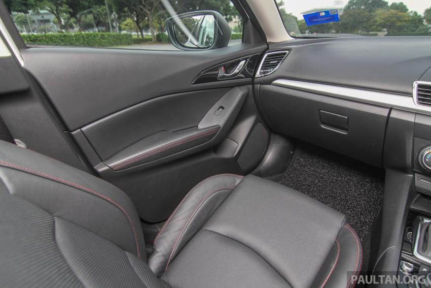 GALLERY: 2015 Mazda 3 CKD – Sedan vs Hatchback Image #337799