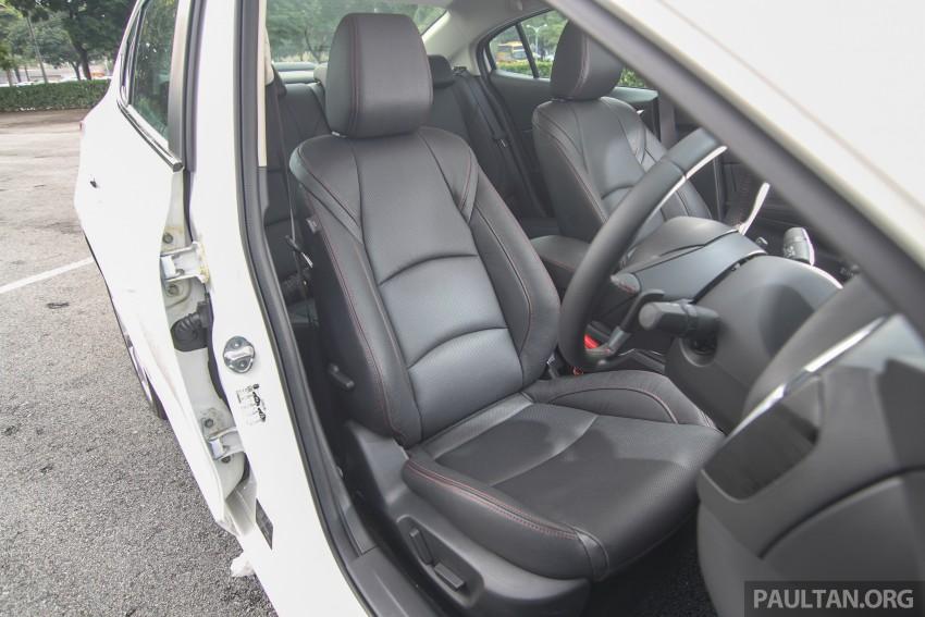 GALLERY: 2015 Mazda 3 CKD – Sedan vs Hatchback Image #337801
