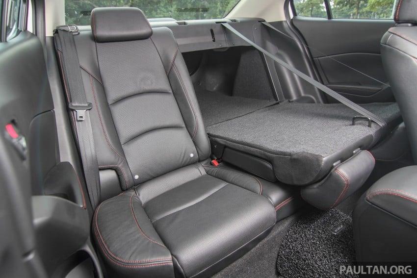 GALLERY: 2015 Mazda 3 CKD – Sedan vs Hatchback Image #337803