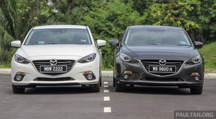 GALLERY: 2015 Mazda 3 CKD – Sedan vs Hatchback Image #337668