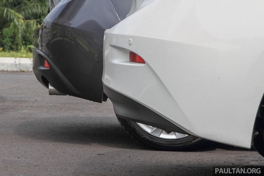 GALLERY: 2015 Mazda 3 CKD – Sedan vs Hatchback Image #337676