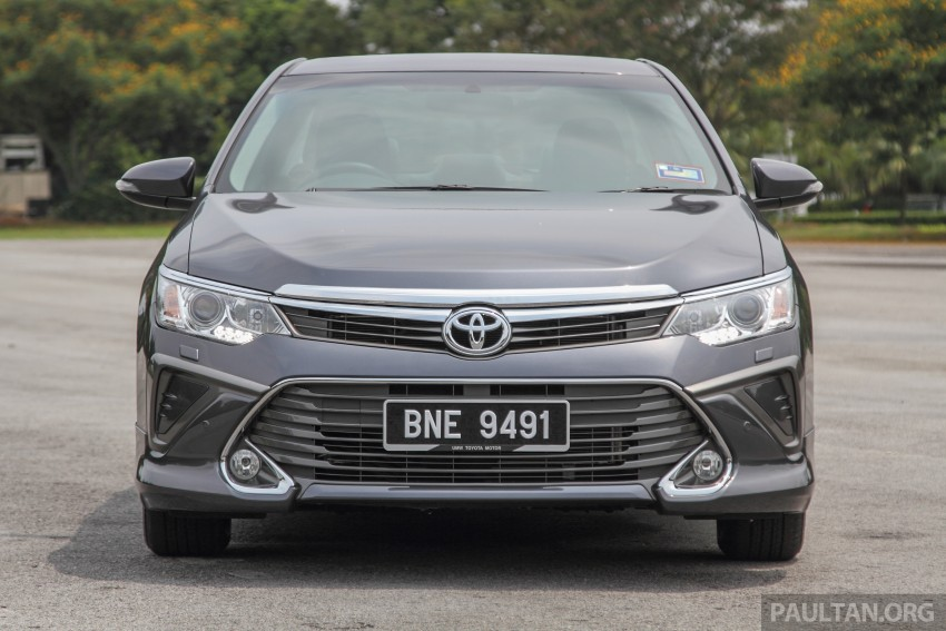 Toyota Camry 2015 >> GALLERY: 2015 Toyota Camry – 2.0G or 2.5 Hybrid? Image 337931