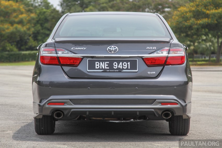 GALLERY: 2015 Toyota Camry – 2.0G or 2.5 Hybrid? Image #337951