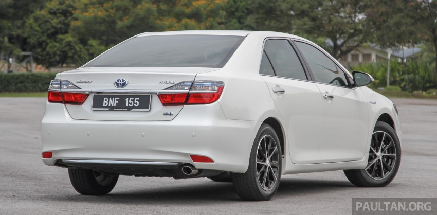 GALLERY: 2015 Toyota Camry – 2.0G or 2.5 Hybrid? Image #337890
