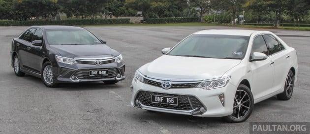 2015 toyota camry facelift malaysia infohub paul tan 39 s automotive news. Black Bedroom Furniture Sets. Home Design Ideas