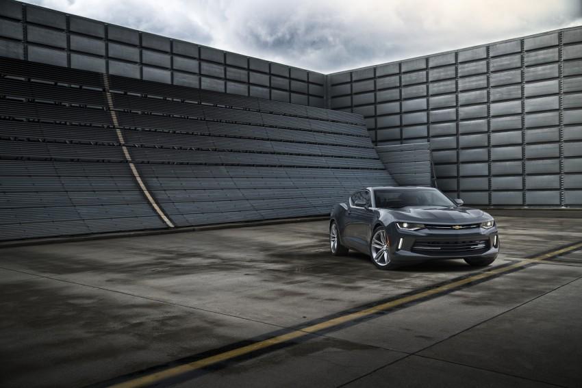 2016 Chevrolet Camaro – sixth-gen pony car debuts Image #340129