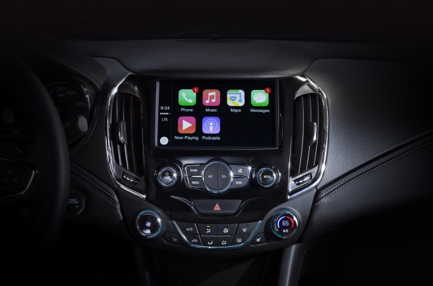 2016 Chevrolet Cruze Apple CarPlay