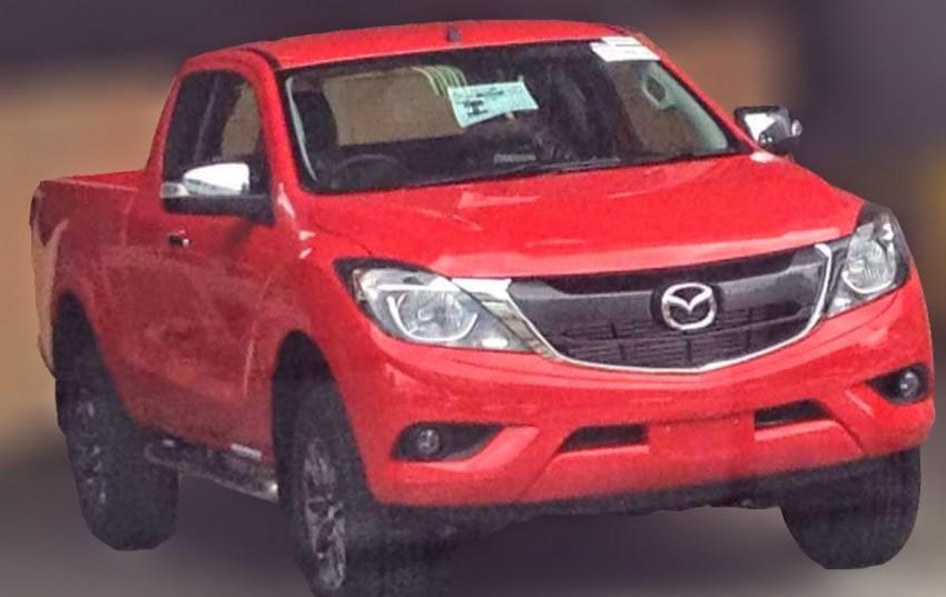 Mazda BT-50 facelift leaked on Thai social media Image #344109