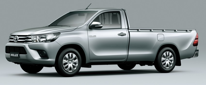 2016 Toyota Hilux – eighth-gen officially unveiled Image #341628