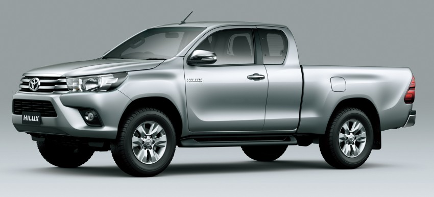 2016 Toyota Hilux – eighth-gen officially unveiled Image #341630