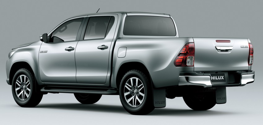 2016 Toyota Hilux – eighth-gen officially unveiled Image #341631