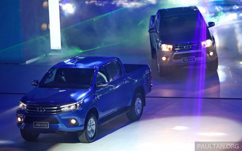 GALLERY: 2016 Toyota Hilux – Thai launch live photos Image #341959