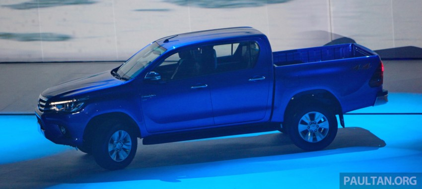 GALLERY: 2016 Toyota Hilux – Thai launch live photos Image #341962