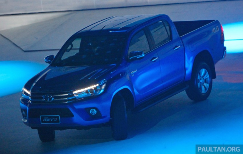 GALLERY: 2016 Toyota Hilux – Thai launch live photos Image #341963