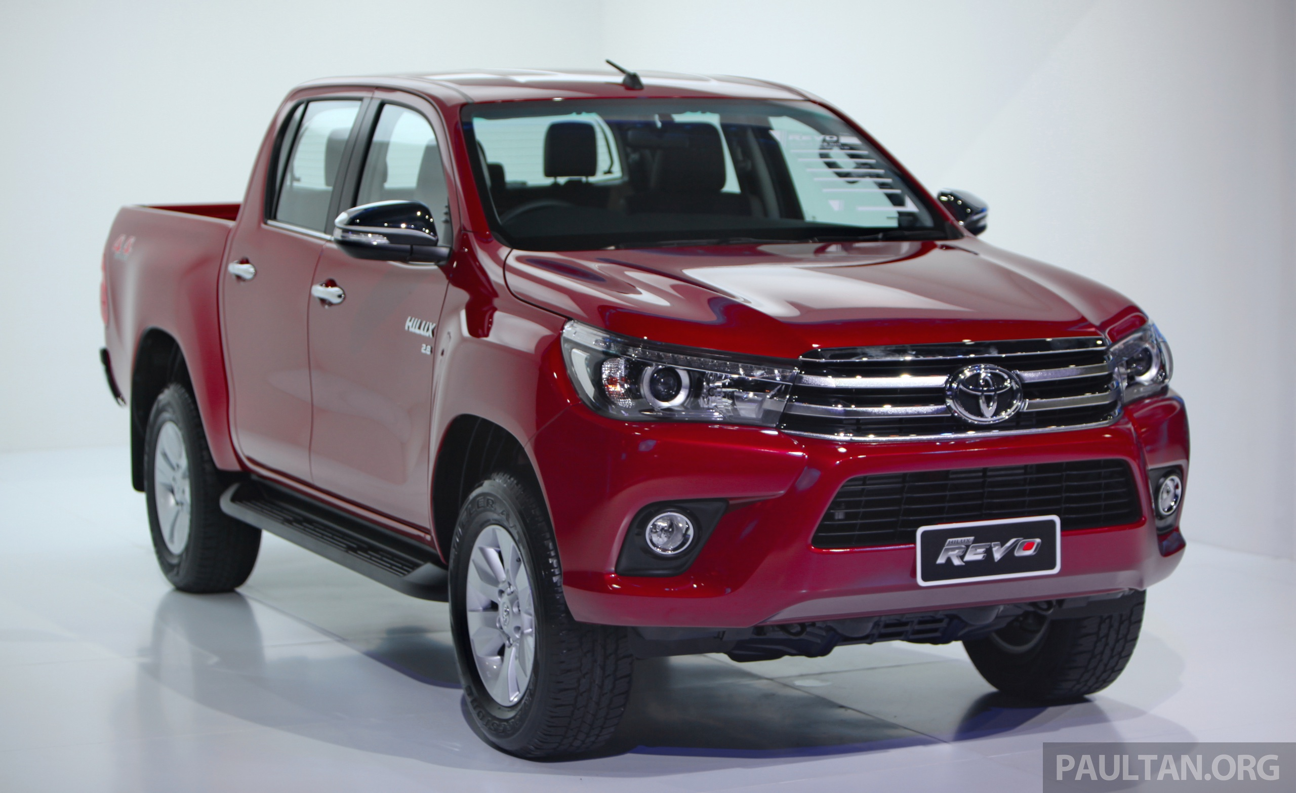 Gallery 2016 Toyota Hilux Thai Launch Live Photos Image