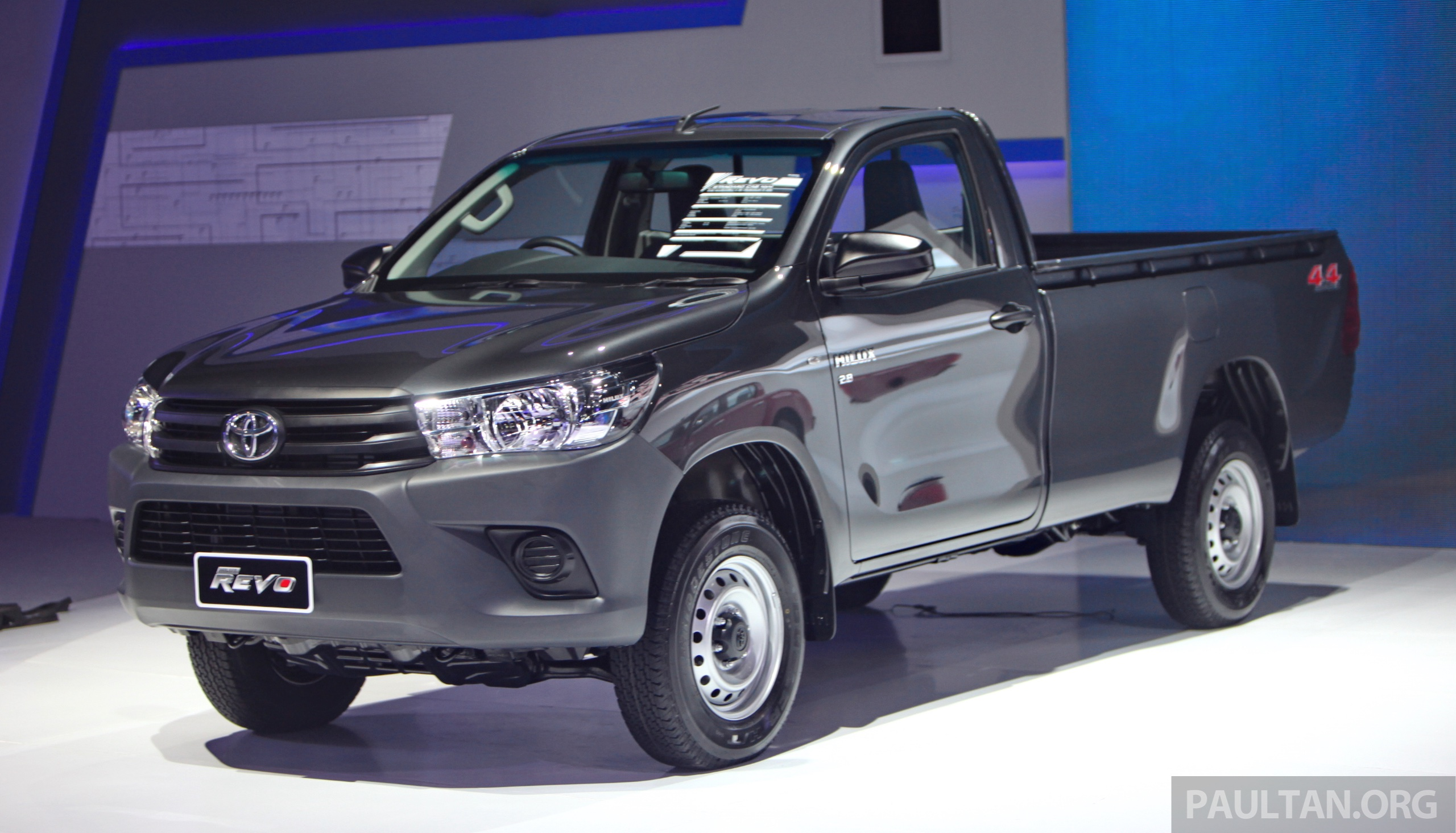 Back to Story: GALLERY: 2016 Toyota Hilux – Thai launch live photos