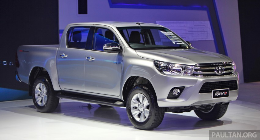 GALLERY: 2016 Toyota Hilux – Thai launch live photos Image #341972
