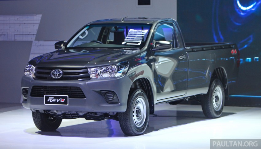 GALLERY: 2016 Toyota Hilux – Thai launch live photos Image #341974