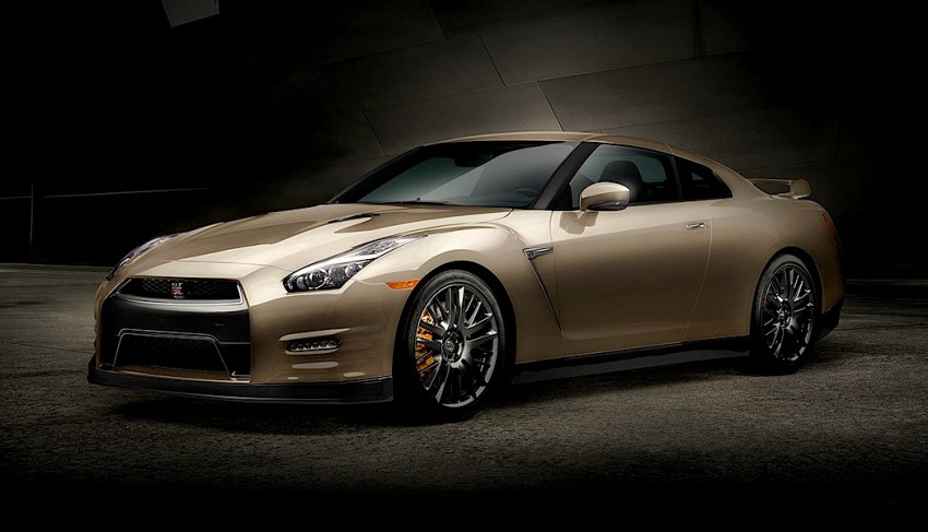 GALLERY: Nissan GT-R 45th Anniversary Gold Edition Image #335097