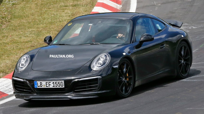 Upcoming Porsche 911 facelift to drop Carrera's naturally-aspirated flat-six for turbo power – reports Image #344284