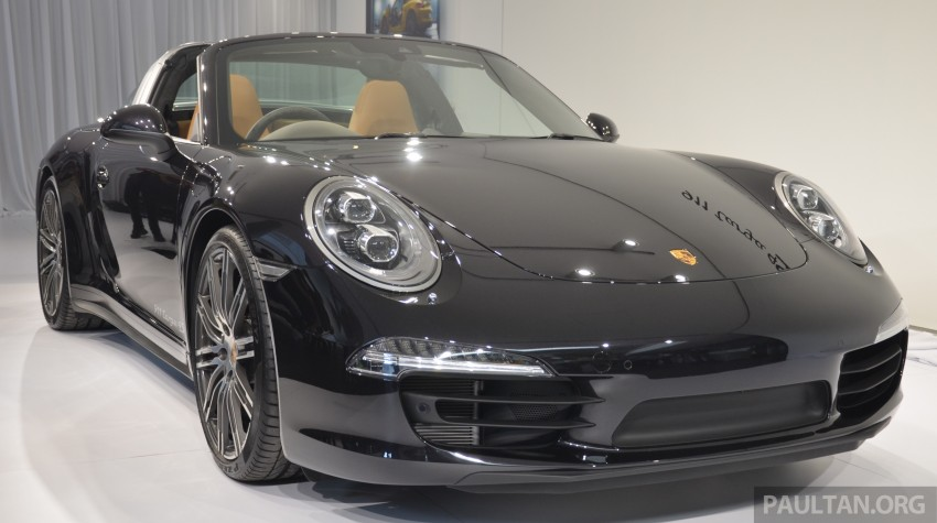 2015 Porsche 911 Targa 4S, Cayenne GTS facelift introduced in Malaysia – order books now open Image #344311