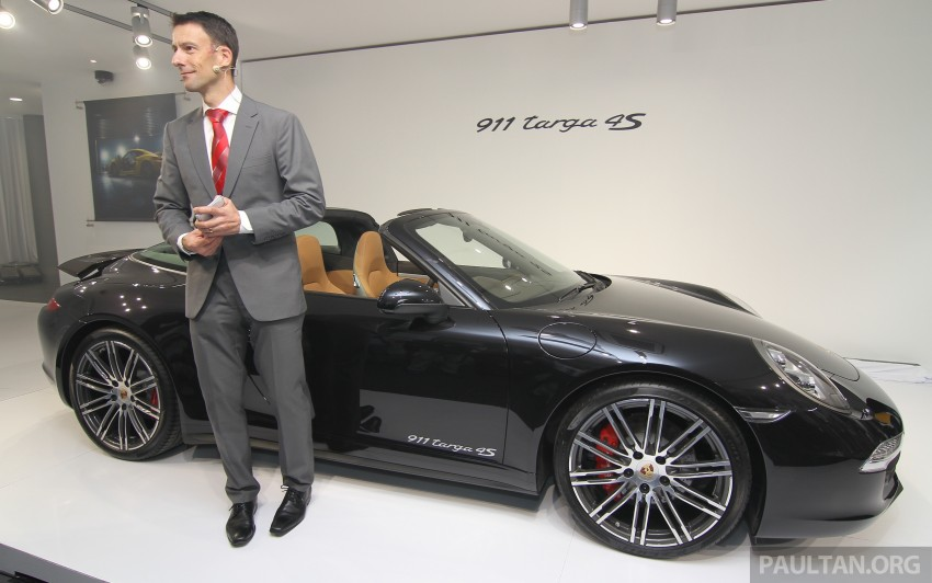 2015 Porsche 911 Targa 4S, Cayenne GTS facelift introduced in Malaysia – order books now open Image #344333