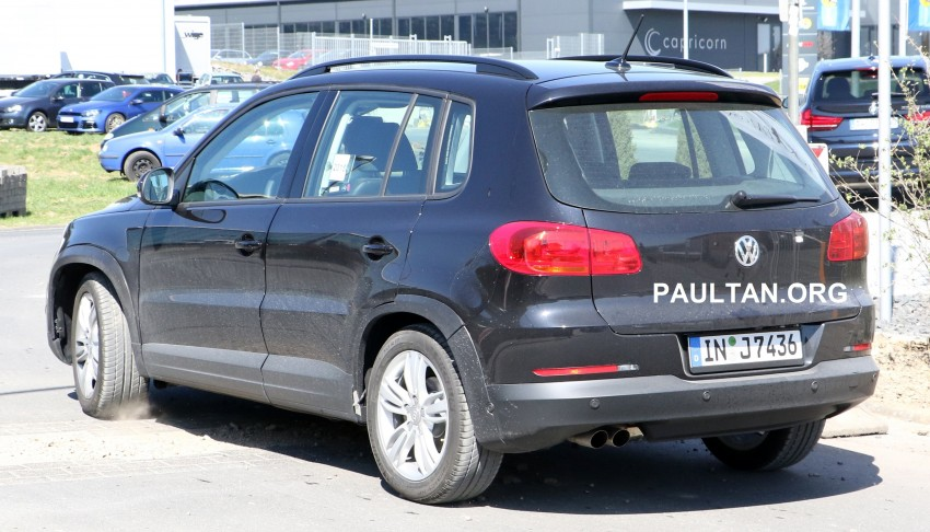 SPYSHOTS: Audi Q1 hiding under VW Tiguan body! Image #337862
