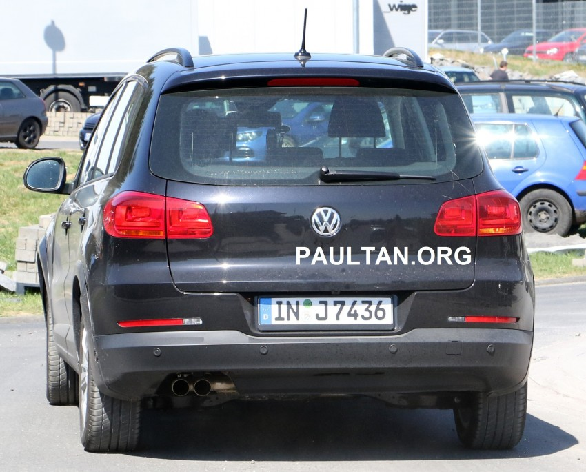 Spyshots Audi Q1 Hiding Under Vw Tiguan Body Paul Tan