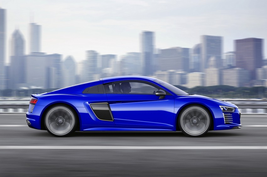 Audi R8 e-tron piloted driving concept unveiled at CES Image #343717