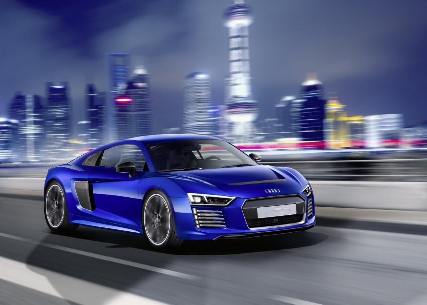 Audi R8 e-tron piloted driving concept unveiled at CES Image #343718
