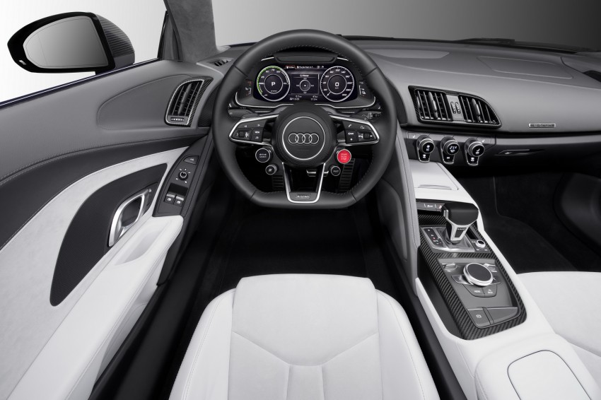 Audi R8 e-tron piloted driving concept unveiled at CES Image #343723
