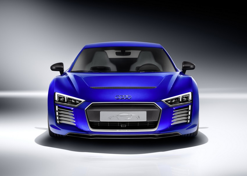Audi R8 e-tron piloted driving concept unveiled at CES Image #343712
