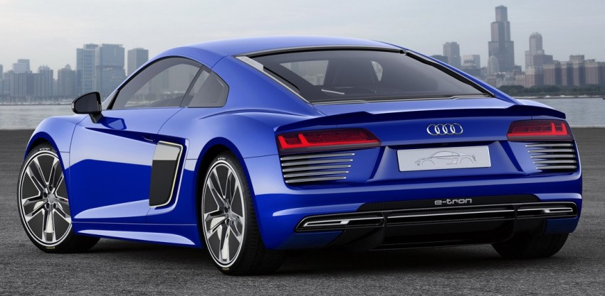 Audi R8 e-tron piloted driving concept unveiled at CES Image #343714
