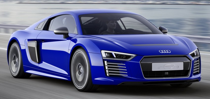 Audi R8 e-tron piloted driving concept unveiled at CES Image #343715