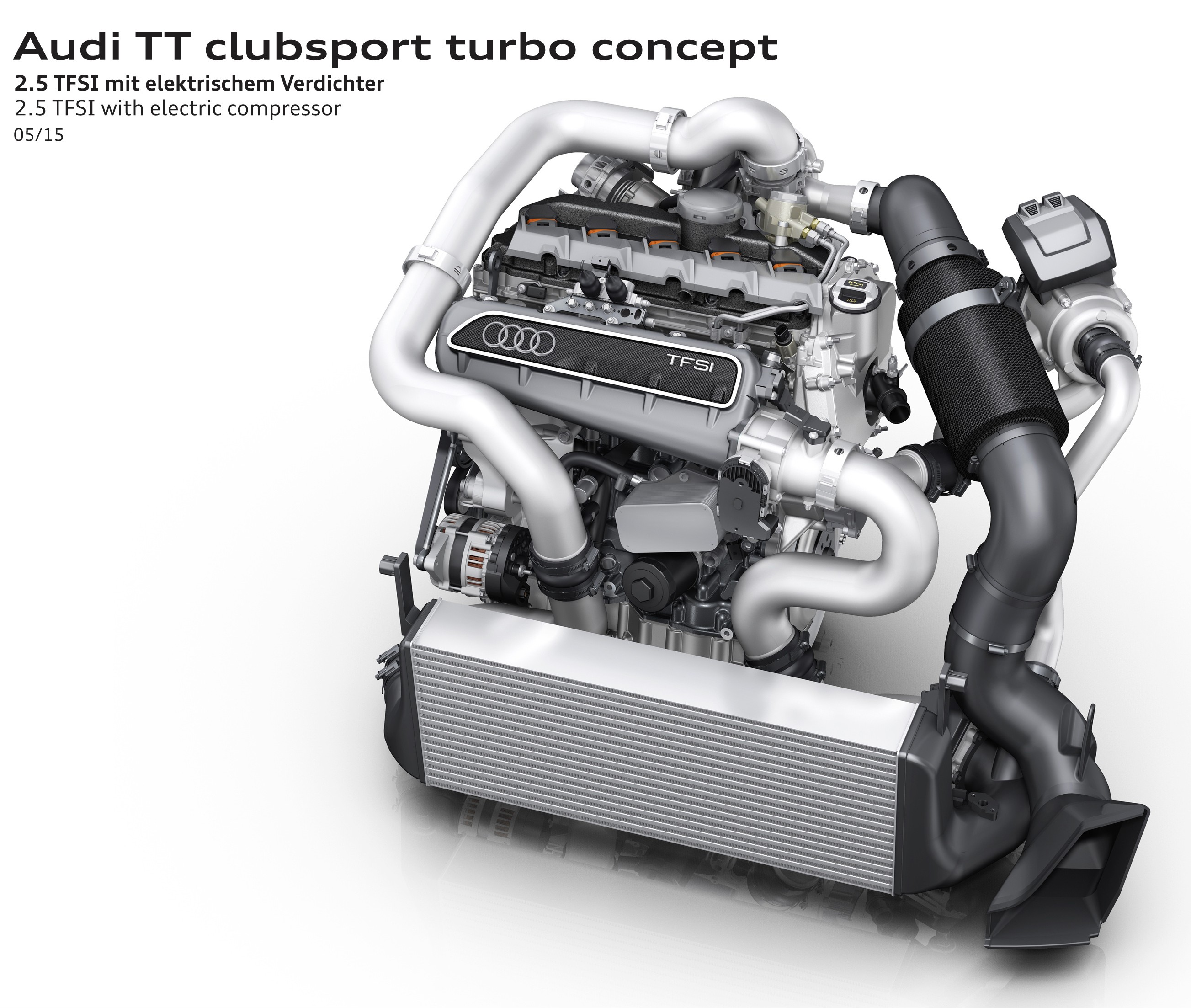 Audi Tt Clubsport Turbo Concept For W 246 Rthersee 2015 Image