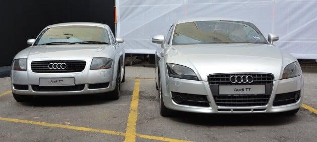 Audi TT old 1
